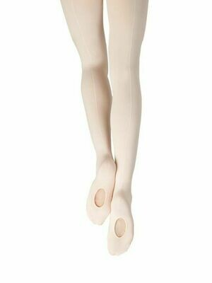 18C Capezio Child Mesh Seamed Tights