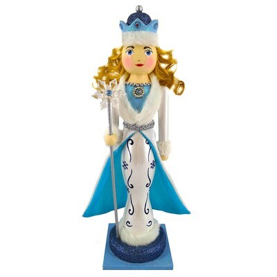 Fancy Snow Queen Nutcracker
