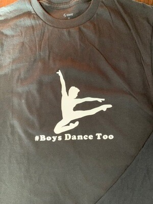 Boys Dance Too T-shirt
