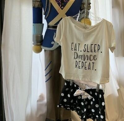 Girls Eat Sleep Dance Repeat PJ's