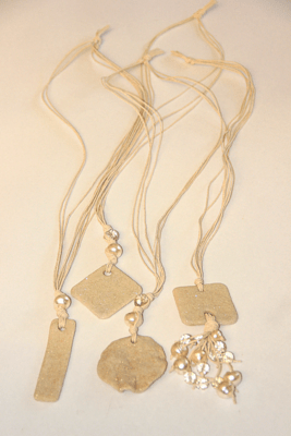 Sand Pendant Necklace N2