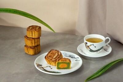 滿福樓「迷你斑蘭蛋黃月餅」