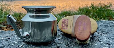 Ensemble de brosses à sec pour le corps (ION) et Pot Neti