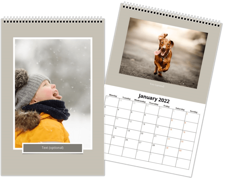 Kalender 20x30 cm - Snapshots