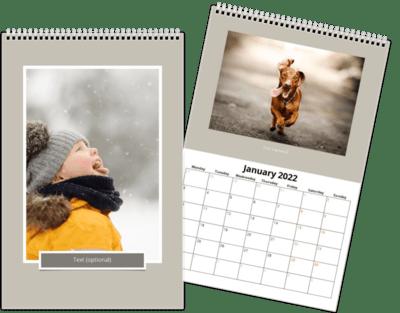 Fotokalender 20x30 cm - Blinkskudd