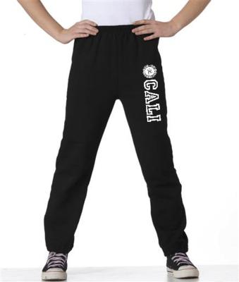 Youth Sweatpants - Black / Pants para jovenes - color negro