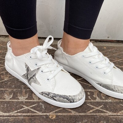 Lauren Snake Vacation Sneaker