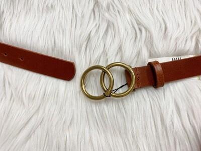 Double Circle Belt Tan
