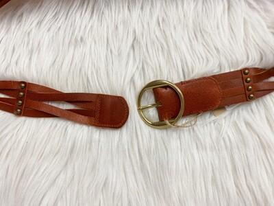 Woven Tan Belt