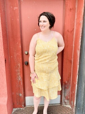 Yellow Cami Dress