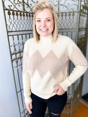 Charlie Chevron Sweater