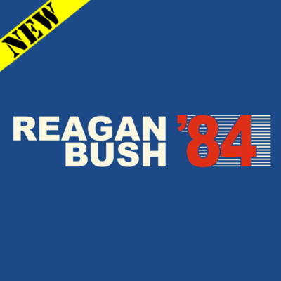 T-Shirt - Reagan Bush '84 (Retro)