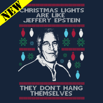Sweatshirt - Christmas Sweater - Epstein Christmas Lights