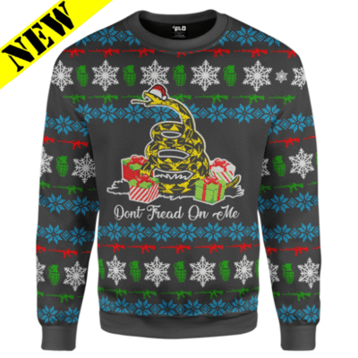 GH Christmas Sweater - Dont Tread On Me