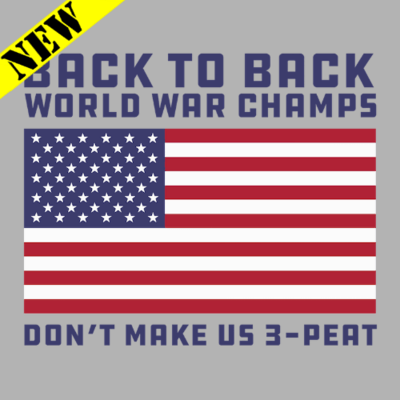 T-Shirt - W-W-C Don't Make Us 3-Peat