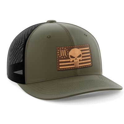 Hat - Leather Patch: 3 Percenter