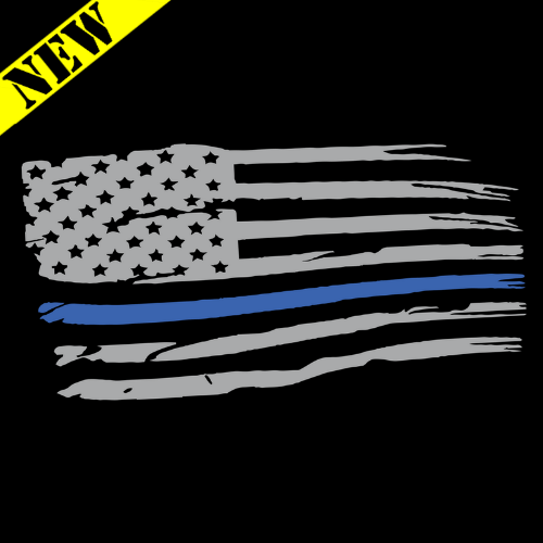 T-Shirt - Thin Blue Line