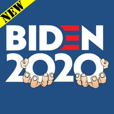 T-Shirt - Biden 2020 - Don't Grope On Me