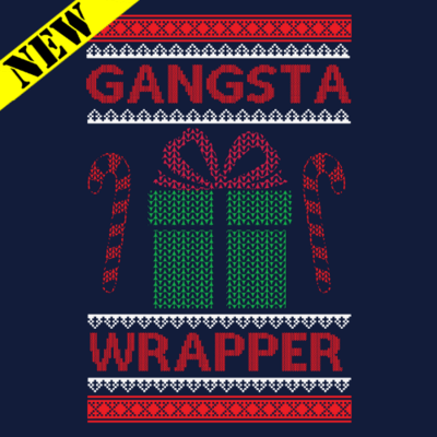 Sweatshirt - Christmas Sweater - Gangster Wrapper