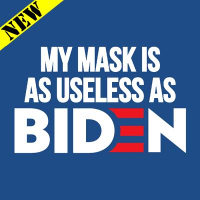 T-Shirt - As Useless As Biden