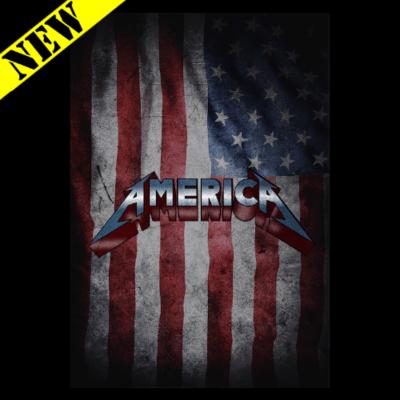 T-Shirt - Metallic America