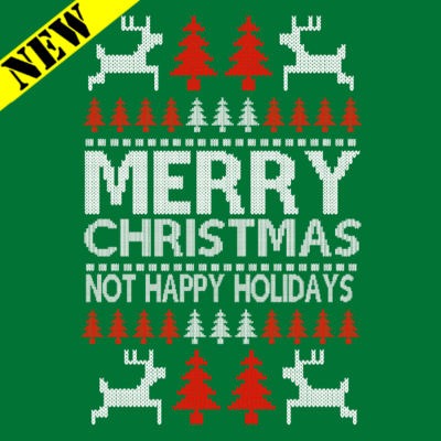Sweatshirt - Christmas Sweater - Not Happy Holidays