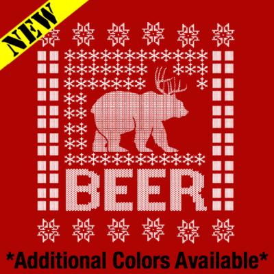 Sweatshirt - Christmas Sweater - BEER