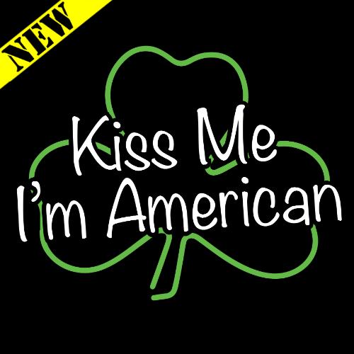 T-Shirt - Kiss Me, I'm American