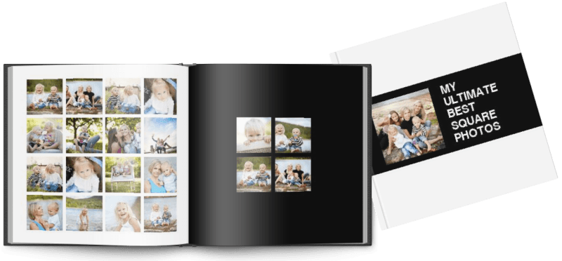 My Ultimate Best Square Photo Board Book