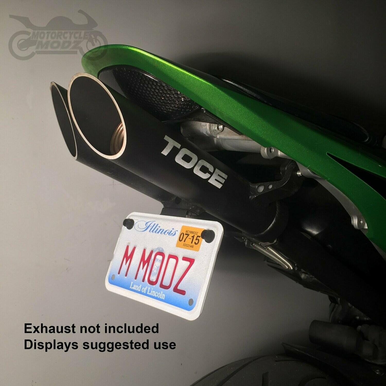 07 12 honda cbr 600 rr fender eliminator for an toce exhaust