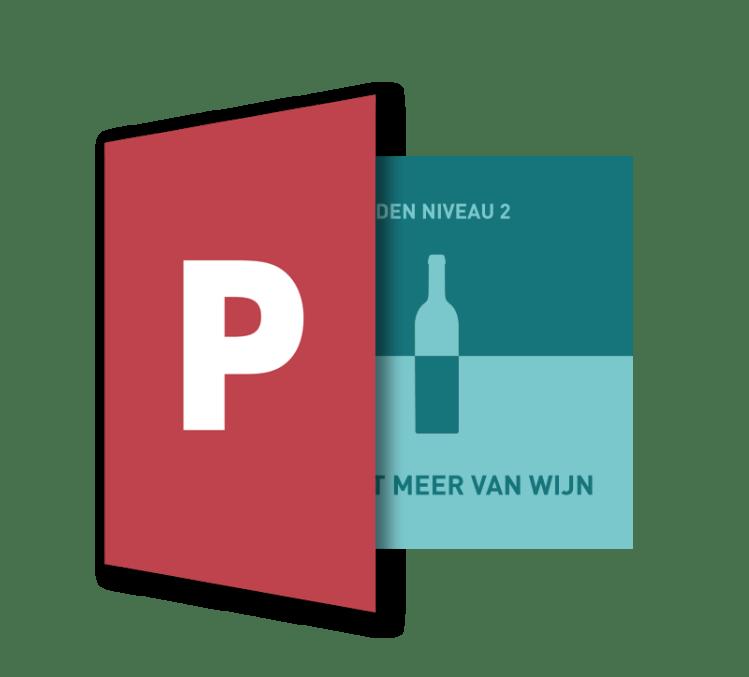 Powerpoint Presentatie: Ik weet meer van wijn - SDEN-Niveau 2