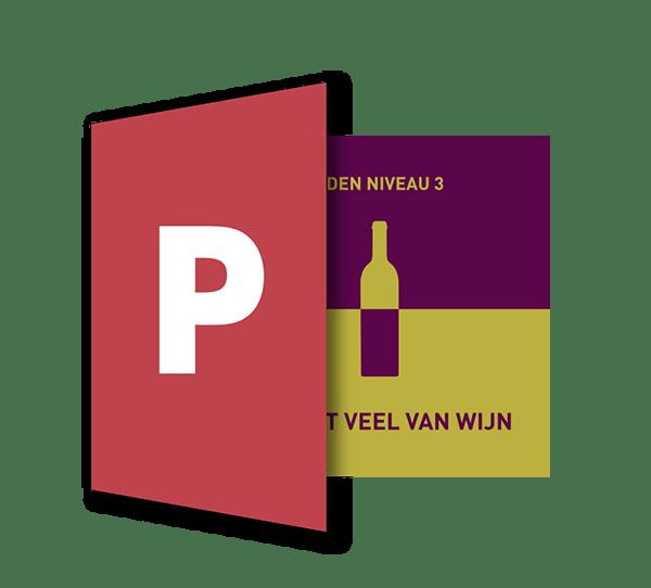 Powerpoint Presentatie: Ik weet veel van wijn - SDEN-Niveau 3