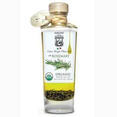 Marchesi Organic EVOO w/Herbs (garlic, tomato, rosemary)