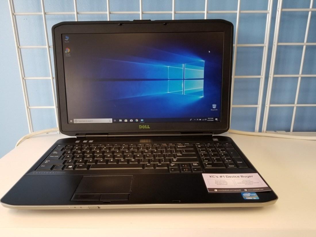 Latitude 5530 Laptop Computer Intel i3 8GB RAM 320GB HDD Windows 10