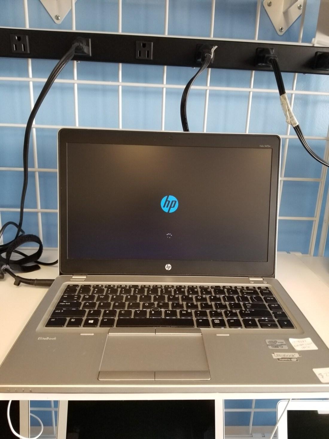 HP Folio 9470M Intel i7 8GB RAM 180GB SSD Windows 10