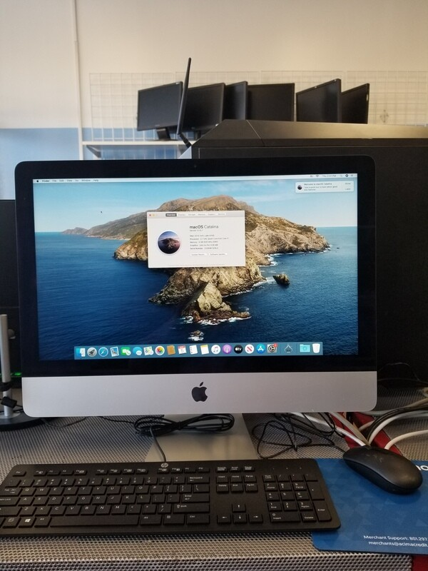 iMac 21.5in 2013 Intel Core i5 8GB RAM 1TB