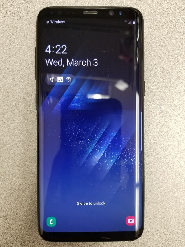 Samsung Galaxy S8 (SM-G950U) 64GB -Black (Unlocked)