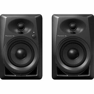 Pioneer DJ Speakers Active Monitor Speakers Color: Black Noir Unopened