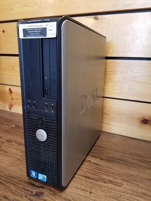 Dell Optiplex 780 Desktop Intel Core 2 Duo @2.93GHz 8GB RAM 500GB HDD, Windows 10 Pro, Intel Q45/Q43 Express Chipset