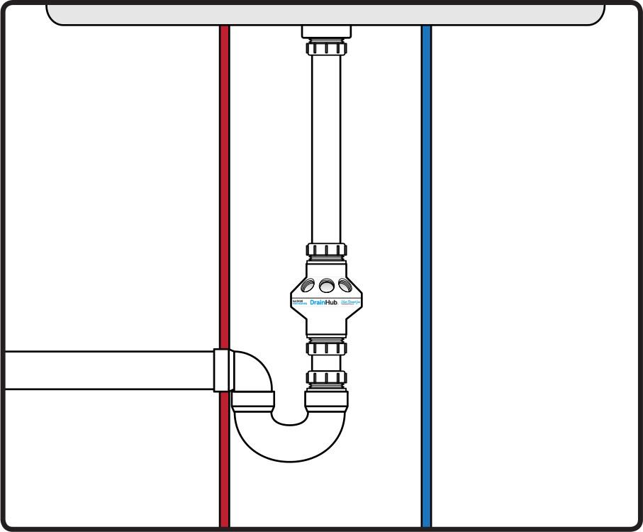 DrainHub Installation Method C