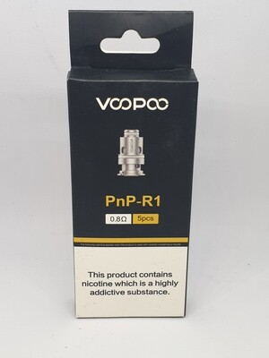 Voopoo PnP R1 Coil Pack of 5 0.8 Ohm