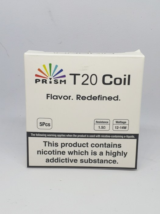 Prism T20 Coil Pack of 5