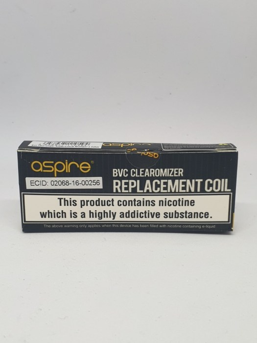 Aspire BVC coil Pack Of 5