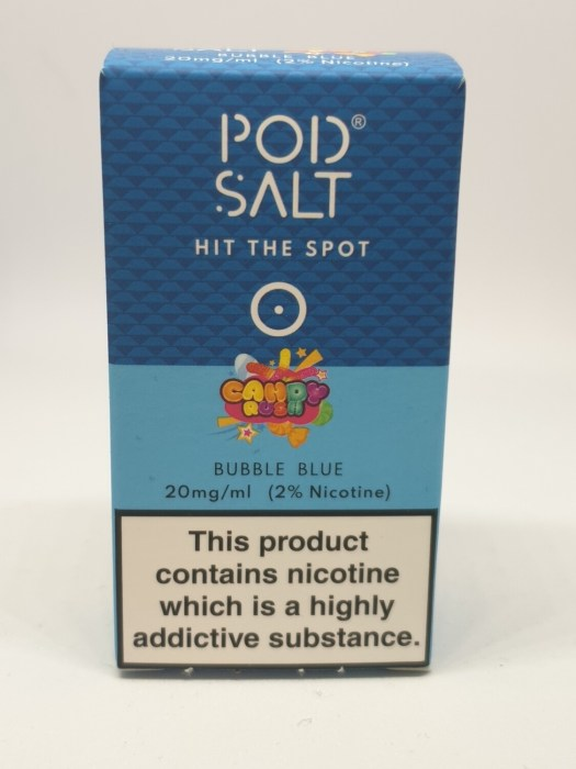 Pod Salt Candy Rush Bubble Blue 10ml 20mg