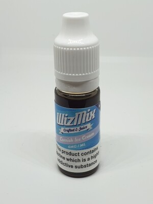 Wizmix Cornish Ice Cream 10ml 6mg 50/50