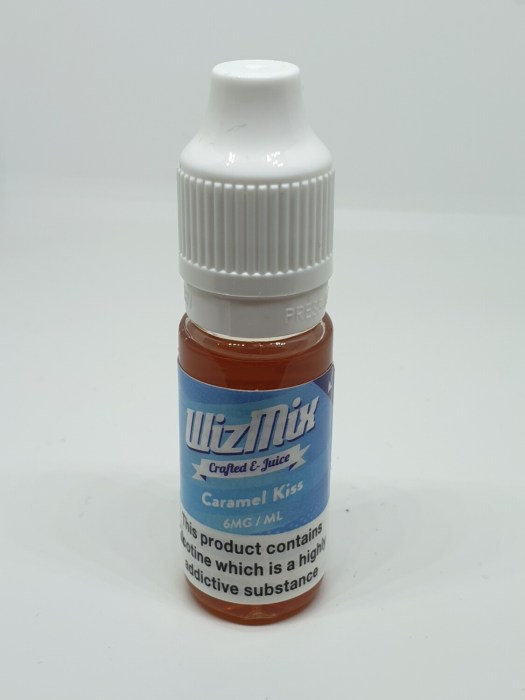 Wizmix Caramel Kiss 10ml 6mg 50/50