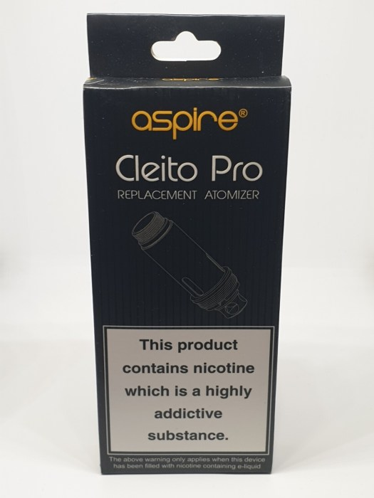 Aspire Clieto Pro Coil Pack Of 5