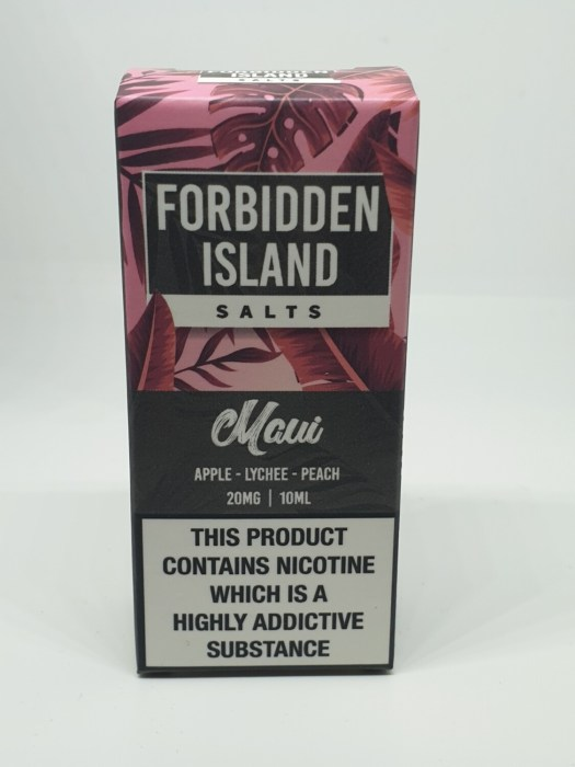Forbidden Island Salts Maui 10ml 20mg