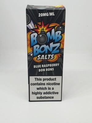 Bomb Bonz Salts Blue Raspberry Bon Bons 10ml 20mg