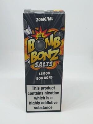 Bomb Bonz Salts Lemon Bon Bons 10ml 20mg